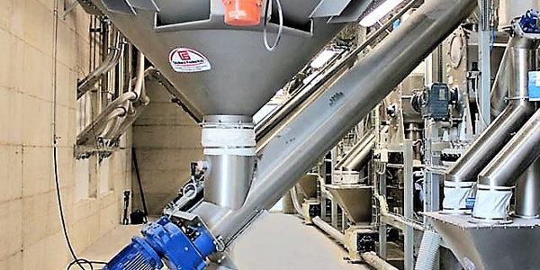materail storage silo
